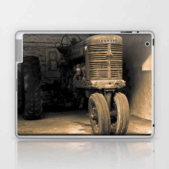It's Tractor Time Laptop & iPad Skin