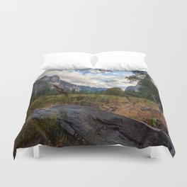 In the Valley. Duvet Cover