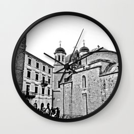 Kotor Square Wall Clock