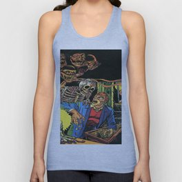 Horror in the Dark - the Pre-Code Collection Unisex Tank Top
