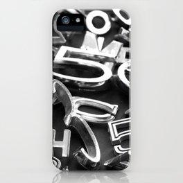 Vehicle Type iPhone Case