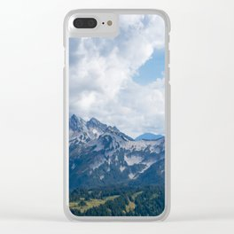 Above Paradise Clear iPhone Case
