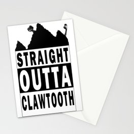 Straight Outta Stationery Cards