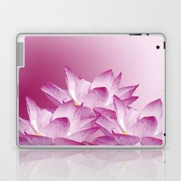 Lotos Flowers Pink Laptop & iPad Skin