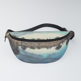 Summer sky at the quarry Fanny Pack