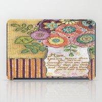 mom iPad Cases featuring Mom by Jamie Morath Art