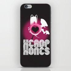 ♥ HEADPHONES iPhone & iPod Skin