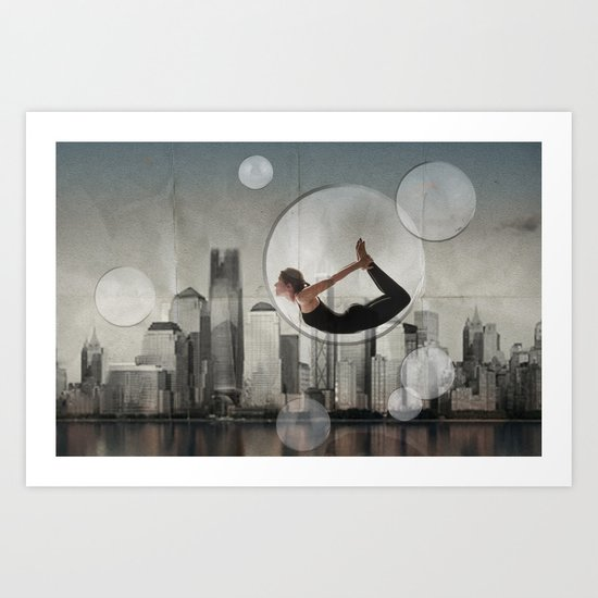 bow city Art Print