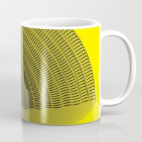 pi Mugs featuring pi by Graphmob
