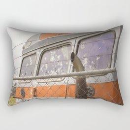Neglect Rectangular Pillow