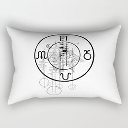 Nature O'clock Rectangular Pillow