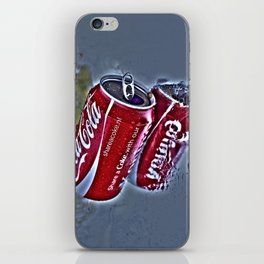 Chilly cola in the hot summer day  iPhone Skin