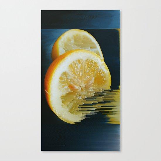 Lemony Good V.2 Canvas Print