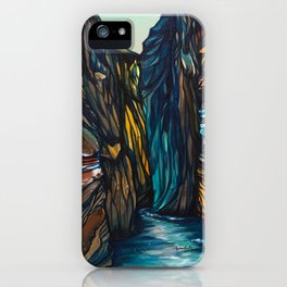 Carved by Time iPhone Case