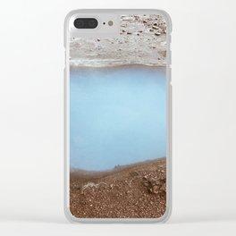Geysir- Iceland Clear iPhone Case