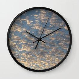Lava Cload Wall Clock