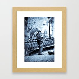 Saxin Framed Art Print