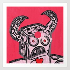 Barry Hole in The Head Art Print