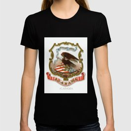 Vintage Alabama State Coat of Arms T-shirt