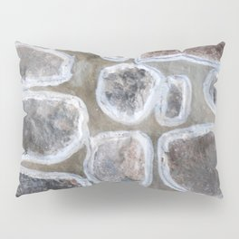 Stone wall colour 4 Pillow Sham