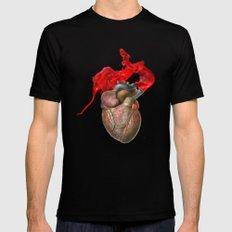 Broken Heart - Fig. 1 Mens Fitted Tee Black MEDIUM