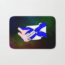 Rugby Scotland Flag Bath Mat