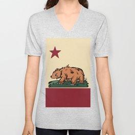Cali Bear Unisex V-Neck