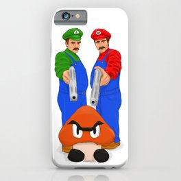 Super Bundock Bros iPhone Case