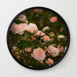 Flores de julio en Madrid Wall Clock