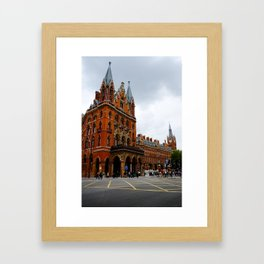 Euston Crossroads. Framed Art Print
