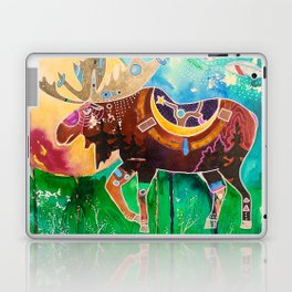 Fantastic Moose - Animal - by LiliFlore Laptop & iPad Skin