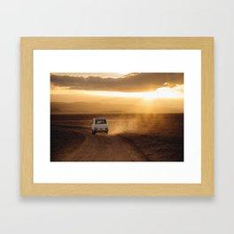 Campervan Framed Art Print
