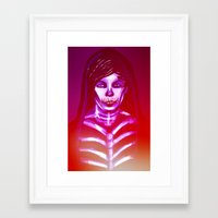 louis Framed Art Prints featuring Louis by nasalouis