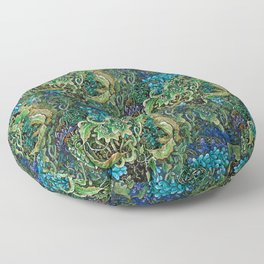 Immersive Pattern Floor Pillow