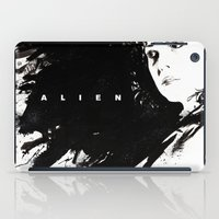 alien iPad Cases featuring Alien by jgart