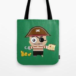 Baby Pirate Tote Bag