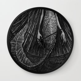 mermai-dure  Wall Clock