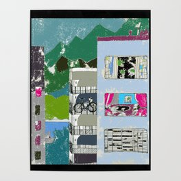 Downtown Living Poster