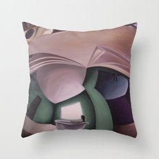 Doorknob #6 Throw Pillow