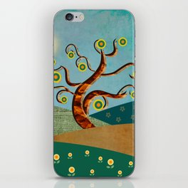 lonely tree iPhone Skin