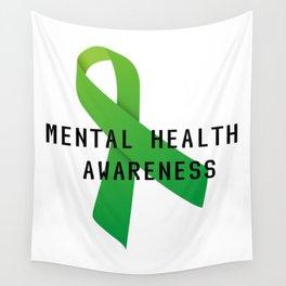Mental Health Awareness Wall Tapestry