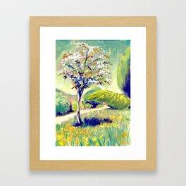 Spring in Balmore Walk Framed Art Print