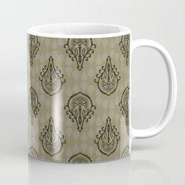 Elegant Ornamental Damask Arabesque Coffee Mug