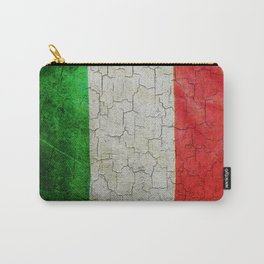 Cracked Italy flag Carry-All Pouch