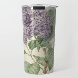 Lilac Botanical Print Travel Mug