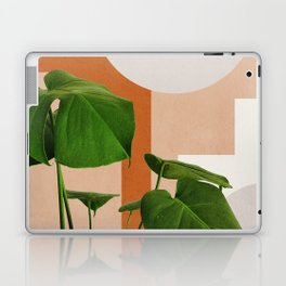 Abstract shapes art, Tropical leaves, Plant, Mid century modern art Laptop & iPad Skin