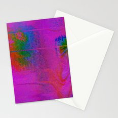 11-23-56 (Moving Circles Glitch) Stationery Cards