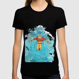 AVATAR AANG IN AVATAR STATE BEAUTIFUL ART PIECE T-shirt