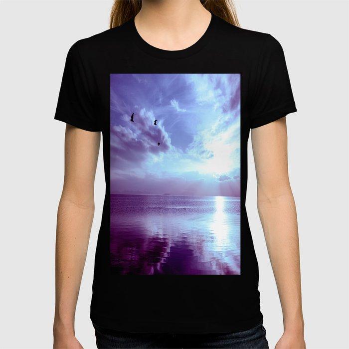 Serenity Lake Lavender T-shirt