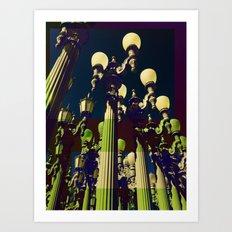 All of the Lights Art Print